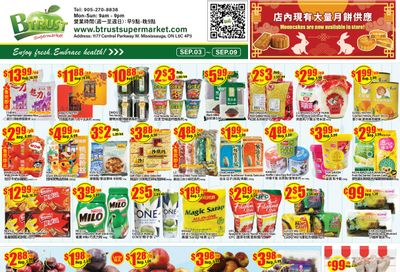 Btrust Supermarket (Mississauga) Flyer September 3 to 9