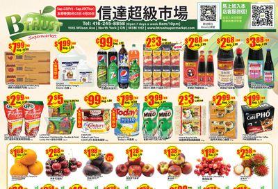 Btrust Supermarket (North York) Flyer September 3 to 9