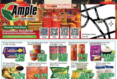 Ample Food Market (North York) Flyer September 3 to 9