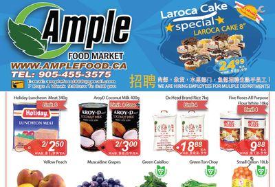 Ample Food Market (Brampton) Flyer September 3 to 9