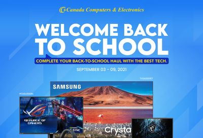 Canada Computers Flyer September 3 to 9