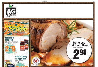 AG Foods Flyer September 5 to 11