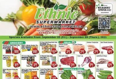 Ethnic Supermarket Flyer September 3 to 9