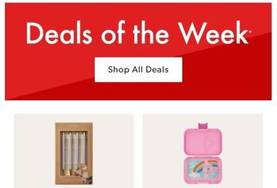 Chapters Indigo Online Deals of the Week September 6 to 12