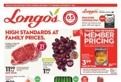 Longo's Flyer September 9 to 15