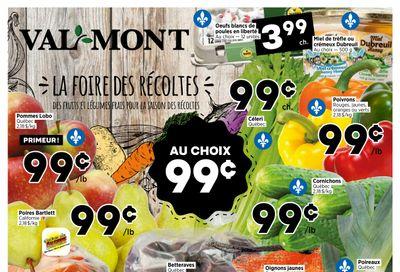 Val-Mont Flyer September 9 to 15