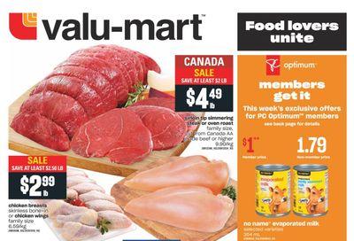 Valu-mart Flyer September 9 to 15