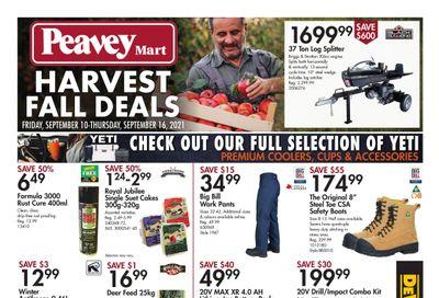 Peavey Mart Flyer September 10 to 16
