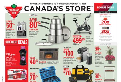 Canadian Tire (ON) Flyer September 10 to 16