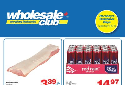 Wholesale Club (Atlantic) Flyer September 9 to 29