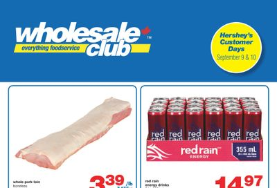 Wholesale Club (ON) Flyer September 9 to 29
