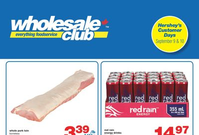 Wholesale Club (West) Flyer September 9 to 29
