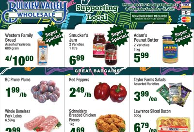 Bulkley Valley Wholesale Flyer September 9 to 15