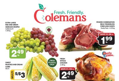 Coleman's Flyer September 9 to 15