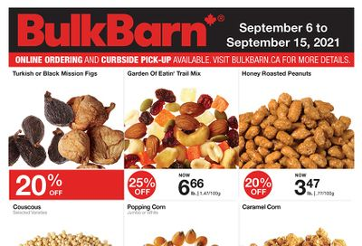Bulk Barn Flyer September 6 to 15