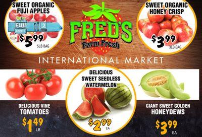 Fred's Farm Fresh Flyer September 8 to 14