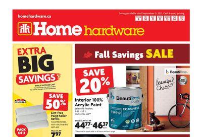 Home Hardware (Atlantic) Flyer September 9 to 15