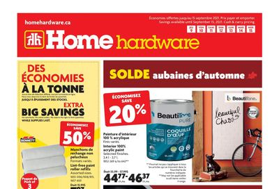 Home Hardware (QC) Flyer September 9 to 15