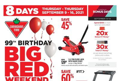 Canadian Tire (West) Flyer September 10 to 16