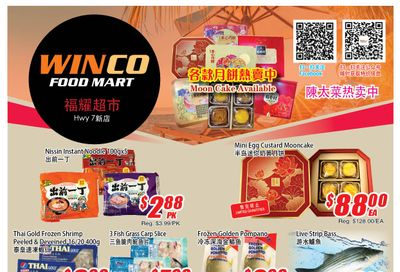 WinCo Food Mart (HWY 7) Flyer September 9 to 15