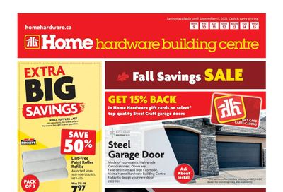 Home Hardware Building Centre (BC) Flyer September 9 to 15