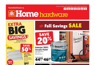 Home Hardware (BC) Flyer September 9 to 15