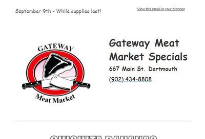Gateway Meat Market Flyer September 9 to 15