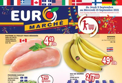 Euro Marche Flyer September 9 to 15