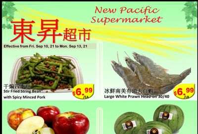 New Pacific Supermarket Flyer September 10 to 13