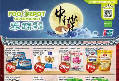 Food Depot Supermarket Flyer September 10 to 16
