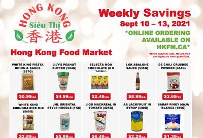 Hong Kong Food Market Flyer September 10 to 16
