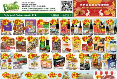 Btrust Supermarket (Mississauga) Flyer September 10 to 16