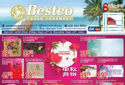 BestCo Food Mart (Scarborough) Flyer September 10 to 16