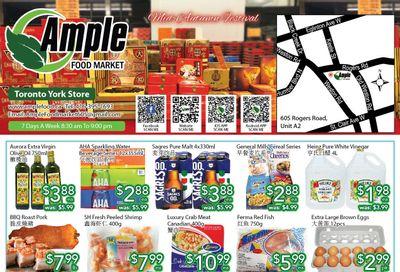 Ample Food Market (North York) Flyer September 10 to 16
