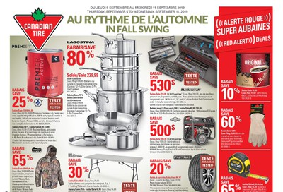 Canadian Tire (QC) Flyer September 5 to 11