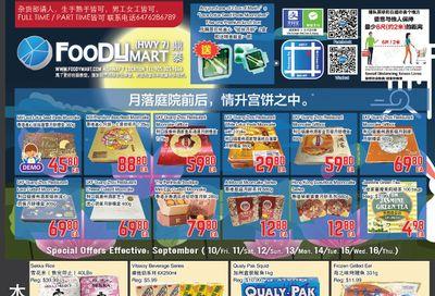 FoodyMart (HWY7) Flyer September 10 to 16
