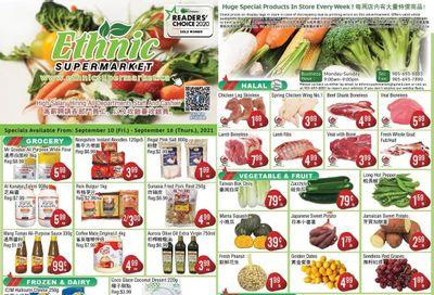 Ethnic Supermarket Flyer September 10 to 16