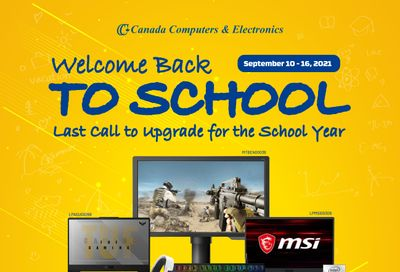 Canada Computers Flyer September 10 to 16