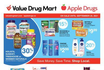 Apple Drugs Flyer September 12 to 25