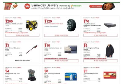 Costco (BC, AB, SK & MB) Weekly Savings September 13 to 26