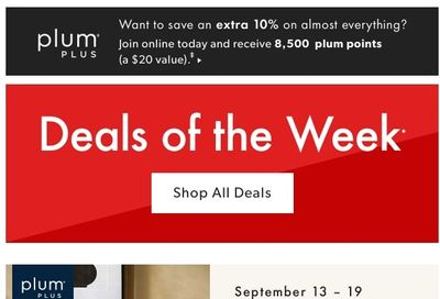 Chapters Indigo Online Deals of the Week September 13 to 19