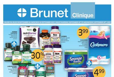 Brunet Clinique Flyer September 16 to 29