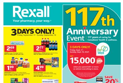 Rexall (ON) Flyer September 17 to 23