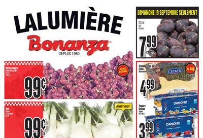 Bonanza Flyer September 15 to 21