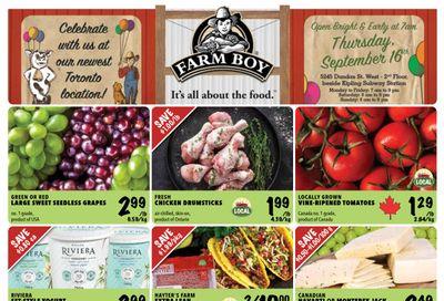 Farm Boy (Toronto, Oakville, Newmarket, Pickering, Richmond Hill and Whitby) Flyer September 16 to 22