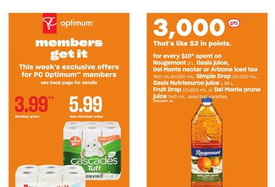 Loblaws City Market (West) Flyer September 16 to 22