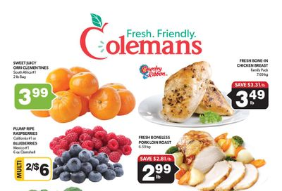 Coleman's Flyer September 16 to 22