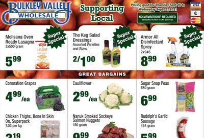 Bulkley Valley Wholesale Flyer September 16 to 22