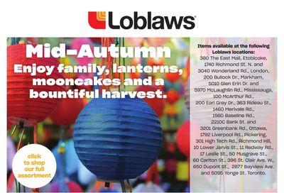 Loblaws (ON) Mid-Autumn Flyer September 9 to 22