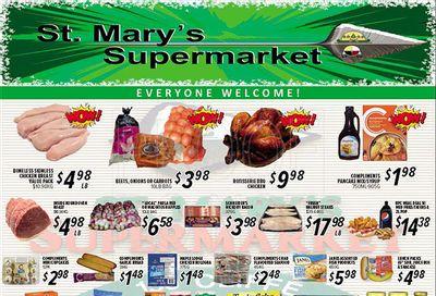 St. Mary's Supermarket Flyer September 15 to 21